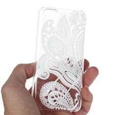 From 0.29:iPhone 5C Cover Kolylong Iphone 5c Transparent Carved Pattern Vintage Hard Case Shell