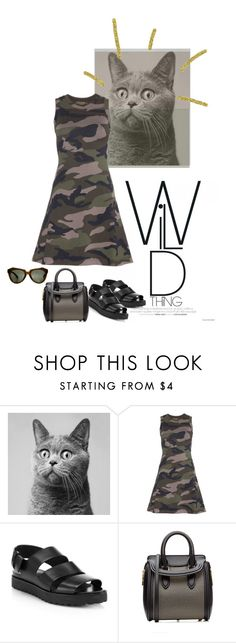 """""""Untitled #3399"""" by dream-flying ❤ liked on Polyvore featuring Valentino, Alexander Wang, Alexander McQueen, Karen Walker, women's clothing, women, female, woman, misses and juniors"""