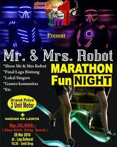 @mr.mrs.robot disc jockey at Saburai Lampung, 28 Mei.  #dj #robot #gigs #event #funrun #nightrun #like4like #likes4likes #tagsforlikes #lampung #eventlampung #imenterprise #indonesia #likeback #likealways #vscocam #vscocamfullpack #vsco #vscogood #dwp #dreamland #bali