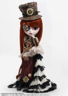 Steampunk Pullip Doll