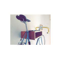 wood bicycle rack Bike Hanger, Bicycle Rack, Bike Shelf, Bike Storage, Mountain Biking, Decor Ideas, Shelves, Wood, Instagram Posts