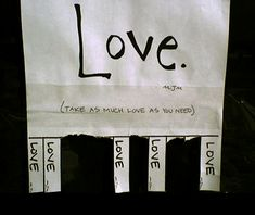 Spread some love across your whole floor by putting this on your dorm door!