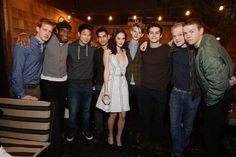 the cast of THE MAZE RUNNER :) so sweet...