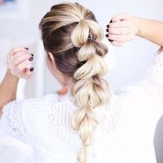 10+ simple hairstyles for the fabulous girl on the go #hairstyles #hair #hairstylesideas