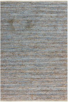 Amer Rugs Naturals rug in Blue and Brown   Rugs Direct