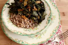 Crunchy Kale and Coconut Bowl - this is to die for.  Seriously.  From Joy the Baker