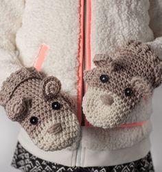 How to Crochet Critter Mittens