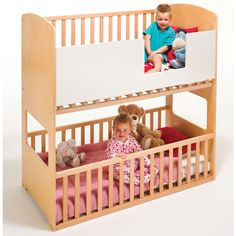 Nursery Decoration & Furniture Cotbeds Generous The Bunkcot Company 3in1 Convertible Bunkcot