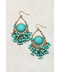 Esperalda Earrings // beautiful turquoise errings