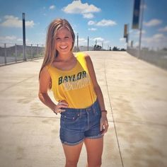 Baylor tank + high-waisted shorts, cute and effortless!