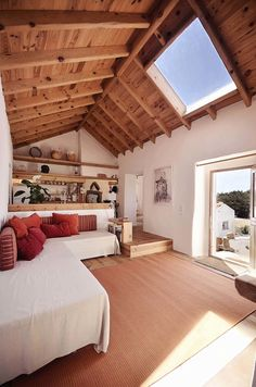 Hugged House / Pedro Quintela – rustic home interior Interior Architecture, Interior And Exterior, Tiny House Design, Loft Design, Country Decor, My Dream Home, Future House, Beautiful Homes, House Plans