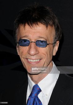 Robin Gibb attends a Celebration of the Bee Gees at Battersea Evolution on January 9, 2009 in London, England.