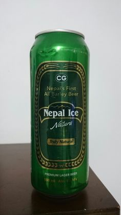 Nepal Ice - Nepal; Beer Can