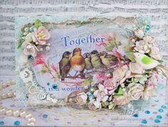 Яблоневый цвет - шебби открытка. а Card - Elixir of LoveВесенняя трель в Хоббируме. До 13 апреля.