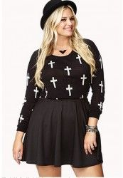forever 21 plus size outfit