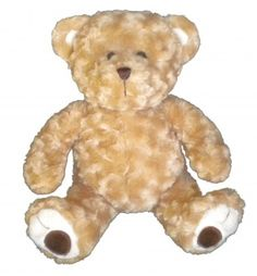 "Singing 16"" plush Twist Teddy Bear which plays custom music featuring your child's name."