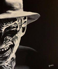 Black & White Freddy Photo