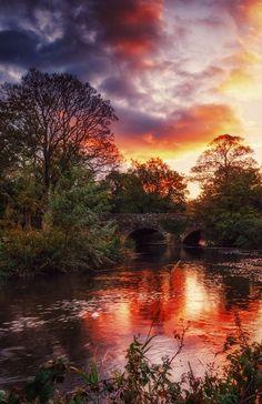Drum Bridge, Northern Ireland (by Gerard Callaghan) #IrelandLandscape