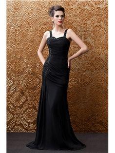Chic Column Floor-Length Straps Taline's Prom Dress