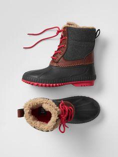 Gap | Cozy duck boots