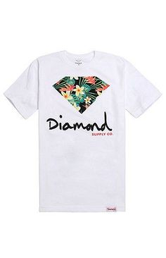 a814674b3f3d2 Diamond Supply Co Maui Script Logo T-Shirt
