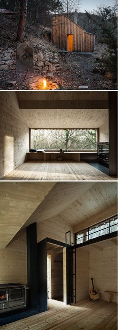 Tom's Cabin Hut by Raumhochrosen Studio.
