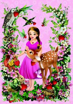 Roger la Borde   Fairy Land Greeting Card by Barbara Behr