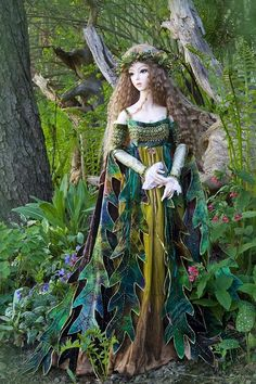 Fairy doll Brighid