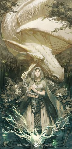 Pastoral Dragon [竜の牧歌] by ET.M