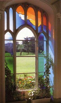 Great-Missenden-Abbey, Buckinghamshire, England - Artist: David Pearl