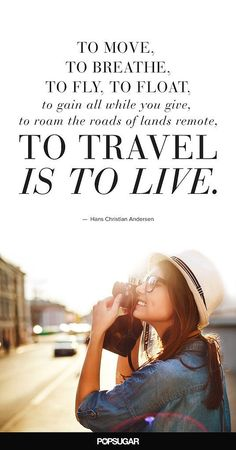 This quote may be on the cover! - travel journal inspiration - 15 Travel Quotes That Will Inspire You to Explore the World Travel Qoutes, Best Travel Quotes, Quote Travel, Quotes To Live By, Me Quotes, Inspire Quotes, Quotes Images, Journey Quotes, Voyager Seul