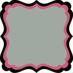 Half XXL Square Frame Frilly #2