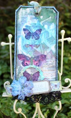 Between the Sheet: Creative Tags - Scraps of Elegance March kit-