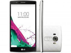 "Smartphone LG G4 32GB Dual Chip 4G - Câm. 16MP + Selfie 8MP Tela 5.5"" Proc. Hexa Core"