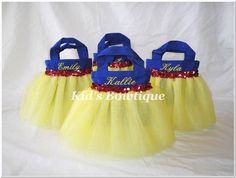 princess bags. OMG could these be any cuter!!!
