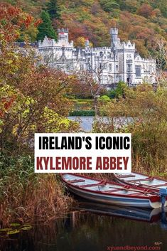 "Kylemore Abbey lies in the midst of what Oscar Wilde called ""Connemara's savage beauty"". Set in the west of Ireland Connemara is a land of awe-inspiring beauty. Europe Travel Tips, Travel Goals, Travel Advice, Travel Guides, Travel Destinations, Travel Info, Travel Uk, Travel Kits, Paris Travel"