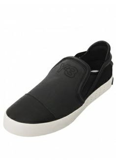 f1f311fbfe8a9 Y-3 LAVER SLIP ON LEATHER SHOE BLACK £180  sneakers  trainers  y-3