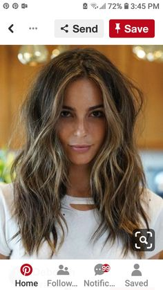 Balayage is the most popular hairstyle at present. In addition to ombre hairstyles or Brazilian hairstyles, balayage hairstyles dominate the dominant hairstyle trend. So what are balayage… Hair Color Balayage, Hair Highlights, Ombre Hair, Brown Balayage, Ombre Brown, Medium Brown Hair With Highlights, Highlights For Brunettes, Highlights Around Face, Haircolor