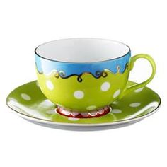 ~ Oilily cup and saucer...