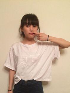 高橋愛│iのTシャツ・カットソーコーディネート-WEAR