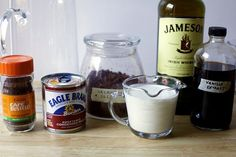 what you'll need, minus the espresso powder- use half and half instead of cream. Too heavy otherwise.