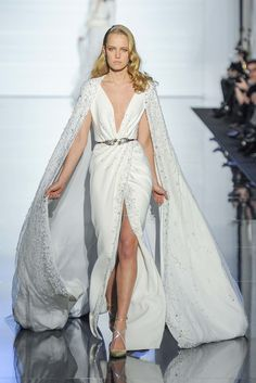 Zuhair Murad Spring 2015 Couture Fashion Show - Annelot De Waal (Oui)