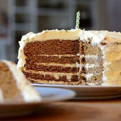Ginger Bread Latte Layer Cake
