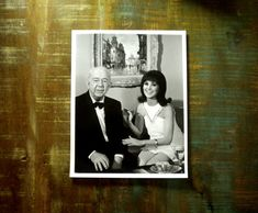Vintage Promotional B & W Glossy on the set of by BeppieandEido, $10.00