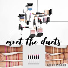 Younique Duet Lipstick, eye shadow, and sculpting stick are brand new! Get one of each in a collection with a free makeup bag!