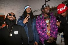 """Flatbush Zombies Rap Over Nas, Pharoahe Monch & Dipset During """"Funk Flex Freestyle"""" 