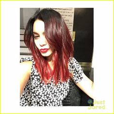 Vanessa Hudgens Goes Red - Check Out Her New Look Here! | vanessa hudgens red hair 00 - Photo