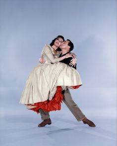 "Cyd Charisse and Gene Kelly in ""Brigadoon"" by Vicente Minnelli 1954"