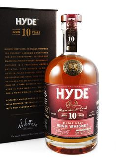 HYDE No. 2 Dark Rum Finish 10 Jahre Irish Single Malt Whiskey, 46%