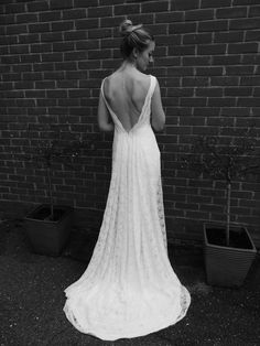 65e7e6d70e07d4 Ivory Lace Wedding dress Designed by Lucy Can't Dance Lucy Can't Dance